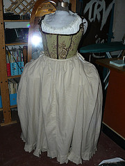 18th c. Costume, petticoat